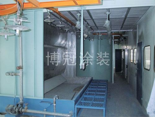 BG-106型水帘喷漆柜